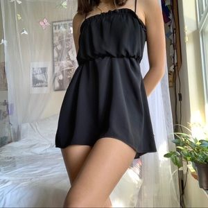 Black Mini Dress
